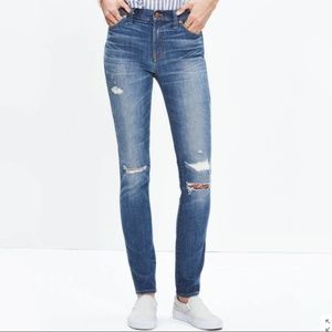 """Madewell Jeans 9"""" High-rise Skinny Jeans"""